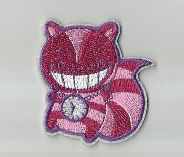 NEW Cheshire Cat ALICE in WONDERLAND IRON ON Patch Clothing Embroidery Applique FREE SHIPPING