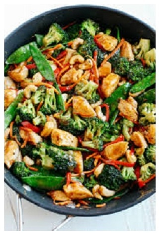 ~☆(New) Cashew Chicken Stir Fry + Free Bread Recipe ☆~