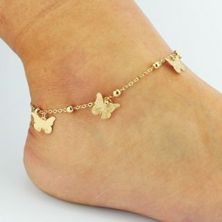 2020 Anklet Beach Foot Jewelry Butterfly x1