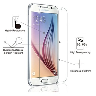 1 New Samsung Galaxy s6 EDGE HD Clear Screen Protector for cell phones FREE GIFT