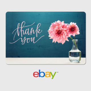 eBay Digital Gift EBAY $5 Gift Card - Thank You - Email Delivery
