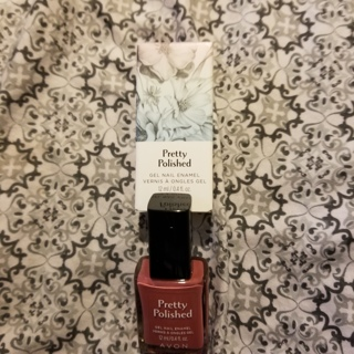 Avon - Pretty Polished - Gel Nail Enamel - Enchanted Fig #1