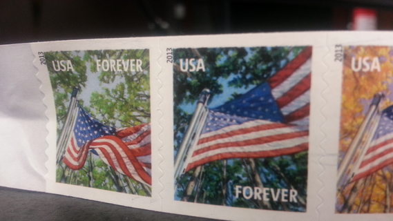 8 Forever Postage Stamps