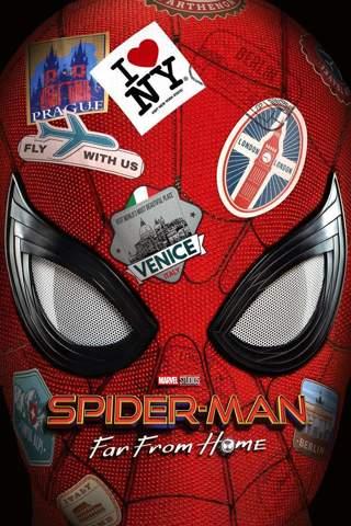 Spider-Man: Far From Home Vudu SD or SD iTunes, MA Code