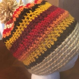 Crochet Colorful Hat.