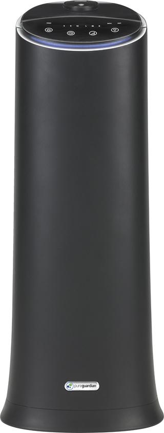 PureGuardian - 1.5 Gal. Ultrasonic Cool Mist Humidifier - Onyx black