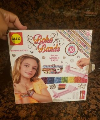Brand new in box-Boho bands , craft kit for girls