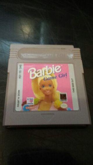 Barbie Game Girl Gameboy Game