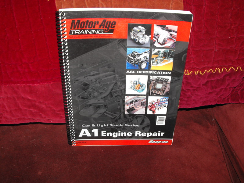 free snap on motor age training books other car items