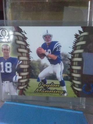 Peyton Manning Rookie
