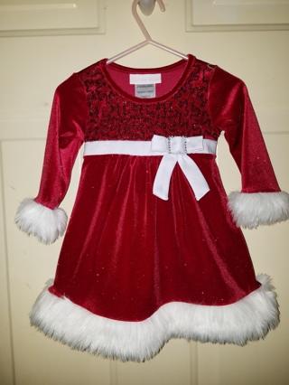 Toddler Girl's Christmas Dress