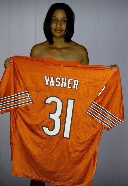 Used Cars Chicago >> Free: Chicago Bears NATE VASHER #31 Alternate Dreamsicle Orange Jersey MENS-XL REEBOK - Football ...