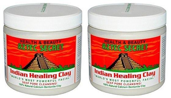 NEW (2-PACK) Aztec Secret Indian Healing Clay Deep Pore Cleanse Facial Healing Mask 100% Natural