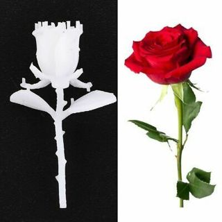Resin Rose Shape Mold Epoxy Mold Silicone DIY Craft 3D Rose Mould Jewelry Making