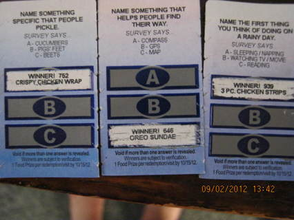 BURGER KING FREE FOOD SCRATCH OFFS **3DAYS ONLY**