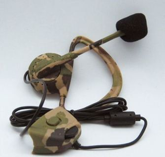 Ultra-light Headset Headphone with Microphone for Xbox 360 Live Camouflage Hot