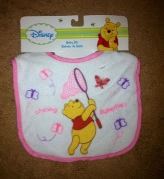 d3326f340b6d Free  PINK~DISNEY WINNIE THE POOH BABY GIRL BIB - Other Baby Items ...