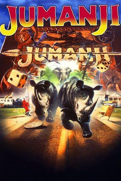 Free: Jumanji 1995 blu ray (Ultraviolet Digital HD Code