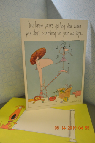 ****SIMPLY FUNNY BIRTHDAY CARD W/MATCHING ENVELOPE***FREE SHIPPING
