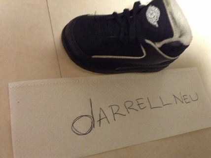 Baby Boy Black Air Jordan