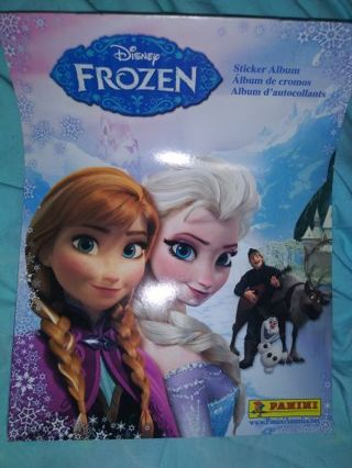 Frozen panini book new No refunds!! No lower! Lowest gins around!! Selling out all!
