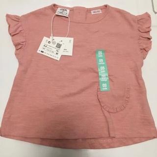 Zara Baby Girl 6/9 Month Shirt.