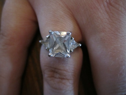 Free:  925 FAS - 2ct ENGAGEMENT RING- SZ 5 ** BEAUTIFUL! A MUST SEE