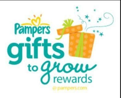 Pampers Reward Code!