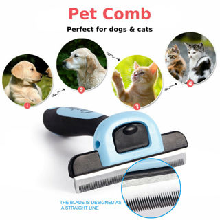 Dog Brush for Shedding-Best Cat Grooming Comb Tools Hair Pet Trimmer Clipper MP