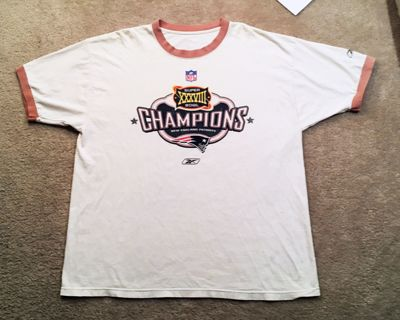 Super Bowl XXXVIII Champions Shirt The New England Patriots Tee