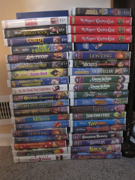 Free Disney Vhs Tapes Winner Gets To Pick 2 Movies