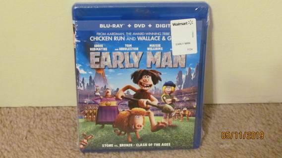 Early Man Blu-Ray NEW in Package