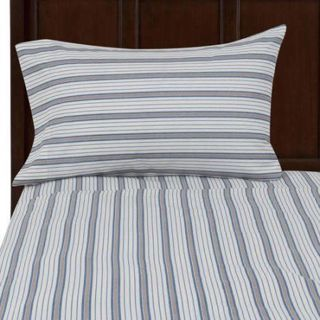 200thread count striped Blue fitted QUEEN sized sheet