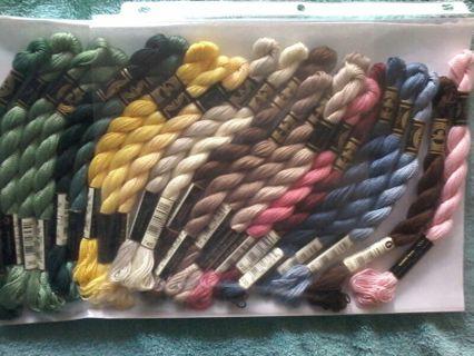 Heavyweight DCM embroidery floss