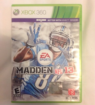 Madden 13 for XBOX 360