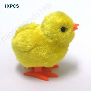Funny Wind-up Hopping Jumping Chicken Clockwork Walking Toys Kids Children Gift