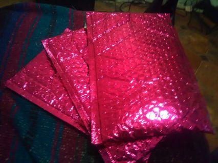 3 Empty Pink Ipsy Envelope