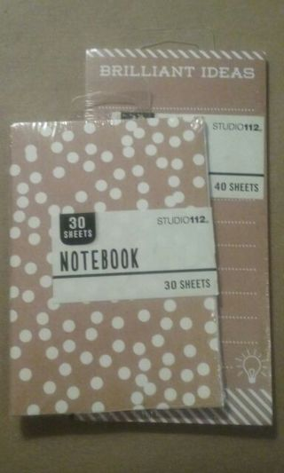 ADORABLE NOTEPAD & NOTEBOOK