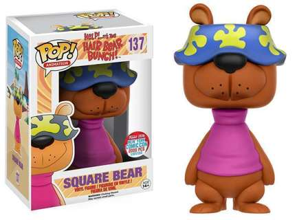 NYCC 2016 Funko POP! Vinyl Hair Bear Bunch Square Bear Exclusive LE 2000