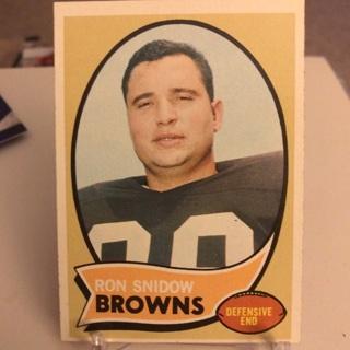 1970 Topps Ron Snidow Card