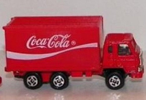 Free Coca Cola Die Cast Delivery Truck Hartoy Inc 1968 Other