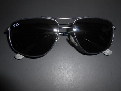 ray-ban aviator sunglasses rb 3490 029 euc