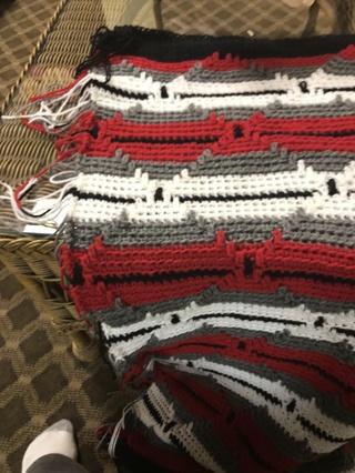 navajo crochet baby blanket