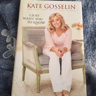 Kate Gosselin I Just Want You to know hb