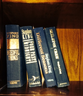 STEPHEN KING LOT OF FOUR HARD COVERS