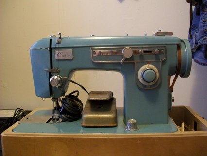 Free wizard citation sewing machine 1940 1950 antiques for Machine a coudre 1950