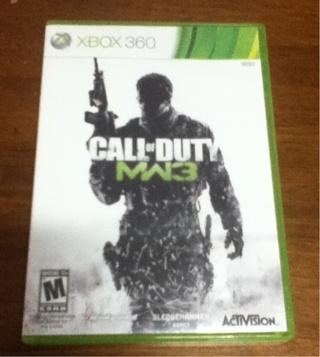 Call Of Duty Modern Warfare 3 For Xbox 360