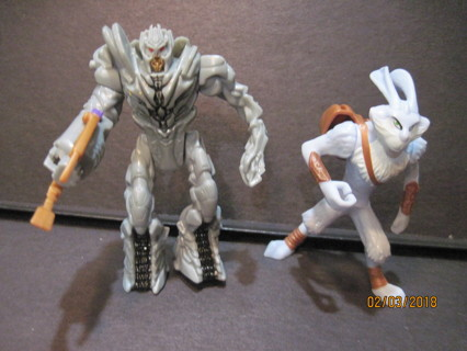 Collectible Hasbro 2010 Transformer and Rabbit Fighter