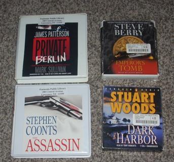 < 5 Audio Books > ... Espionage / Thriller / Crime