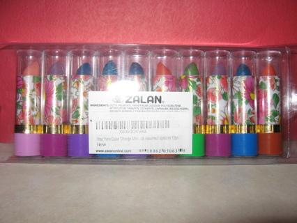Aloe Vera Color Change Mood Lipstick Assorted Shade Lipsticks Great Colors 10 pc